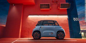 citroen ami, xe điện ami, xe ô tô điện Pháp, xe ô tô điện, ami